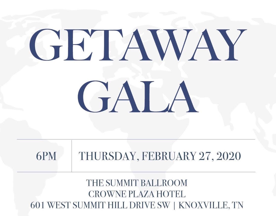 GetAway Gala Invitation 2020
