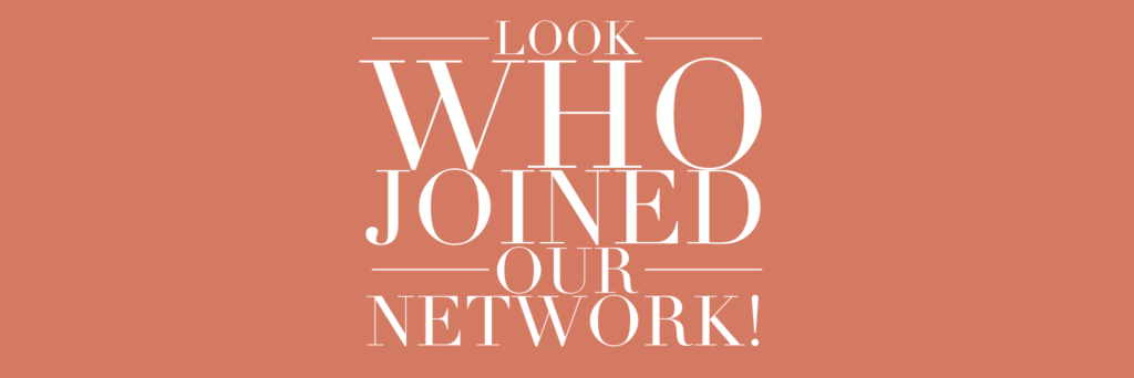 Look Who Joined our Network!