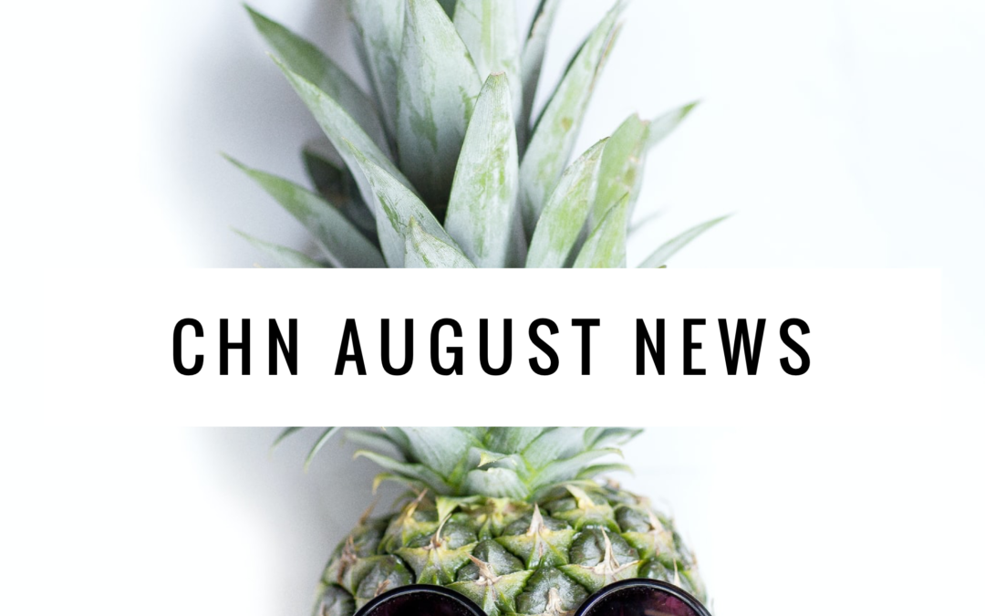 CHN Community News – August